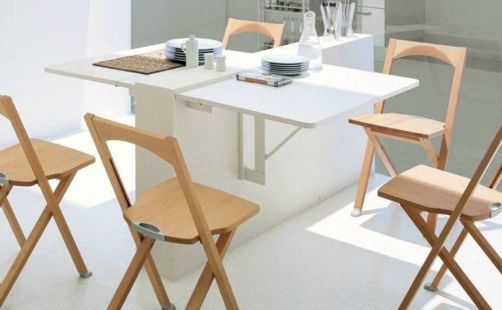 Wall Mounted Drop Leaf Kitchen Table Design Ideas
