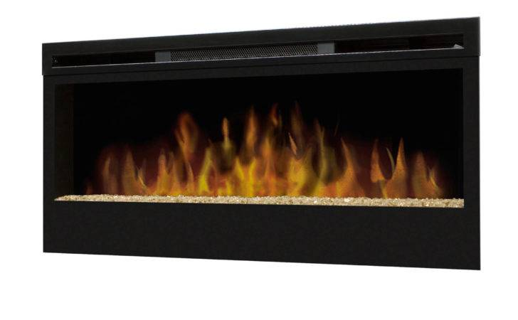Wall Mounted Electric Fire Glass Flame Bed Model Blf