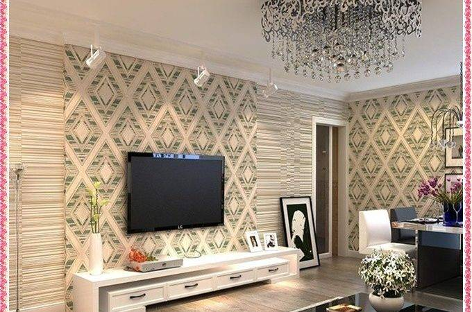 Wall Paper Design Living Room Patterns