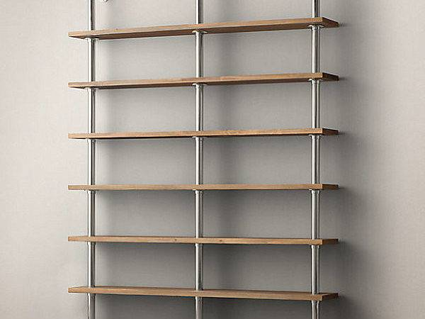 Wall Shelving System Industrial Style Decoist