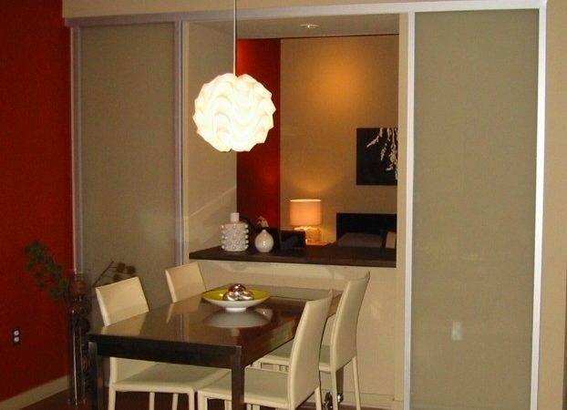 Wall Slide Doors Modern Dining Room
