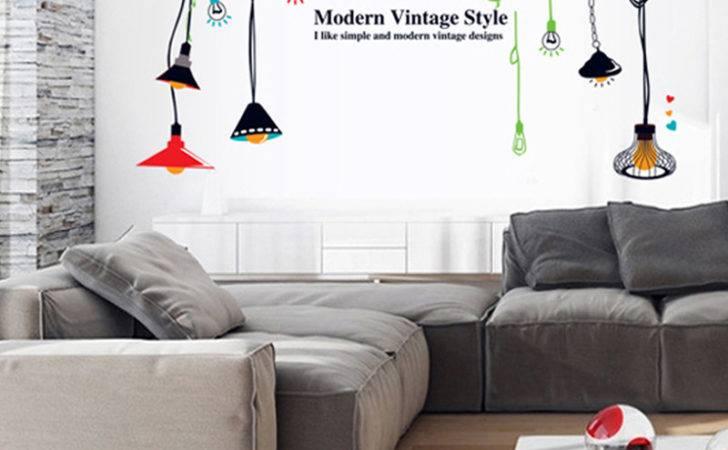 Wall Stickers Mural Modern Fashionable Lights Vinyl Decals