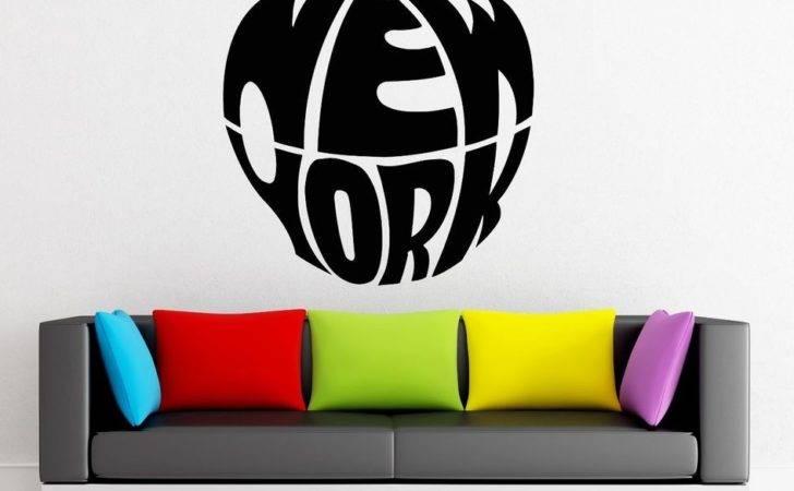Wall Stickers Vinyl Decal New York City Big Apple Urban Decor