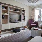 Wall Units Dazzling Fitted Living Room Ideas
