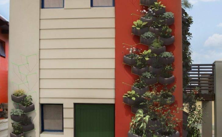 Wallflower Vertical Garden System Rendered Design Indaba