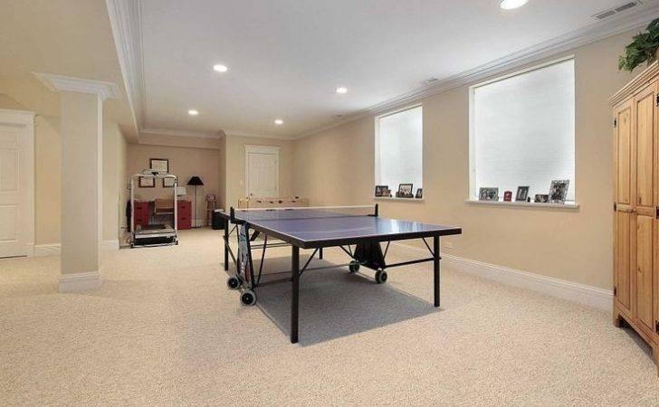 Walls Beige Basement Wall Color Table Tennis Carpet