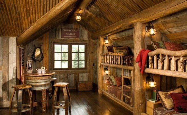 Walls Sconces Add Elegant Rustic Vibe Kids Bedroom