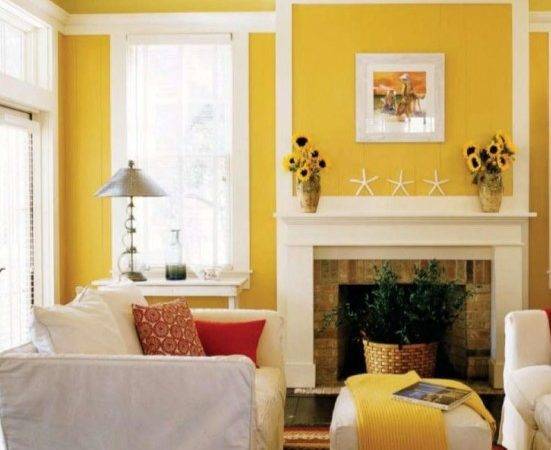 Walls Together Yellow Bedroom Designs Besides Living