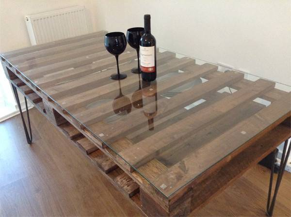 Want Have Beautiful Industrial Looking Table Make