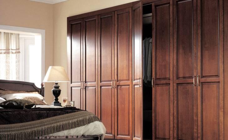 Wardrobe Designs Vintage Bedroom Brown Teak Design