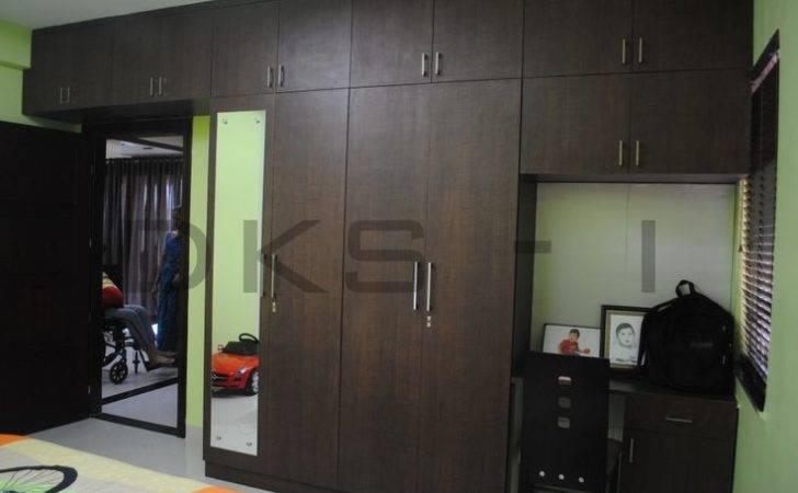 Wardrobe Dressing Unit Study Table Residential Interior Designs