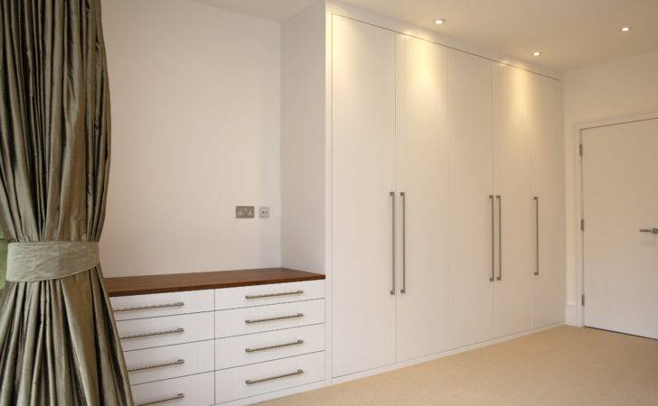 Wardrobe Read More White Traditional Built
