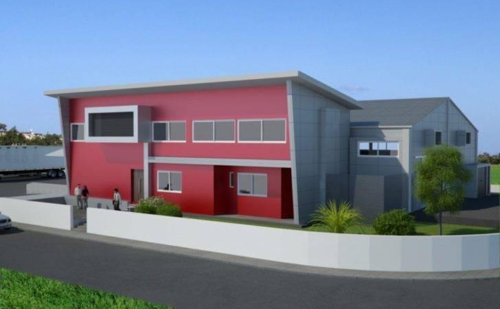 Warehouse Exterior Design