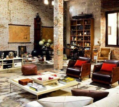 Warehouse Living Space Home Your Heart Pinterest