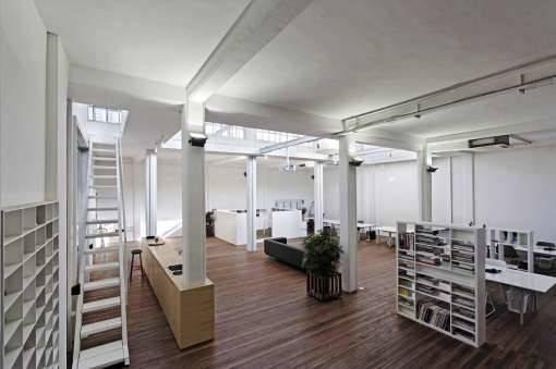 Warehouse Office Space Design Coffee Shop Interior Attic