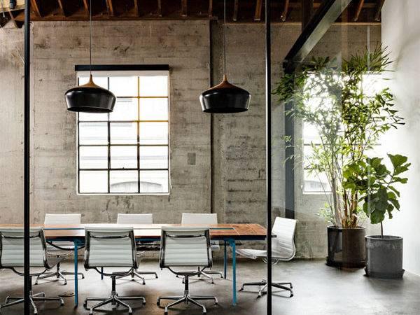 Warehouse Turned Into Loft Office Interior Design Ideas
