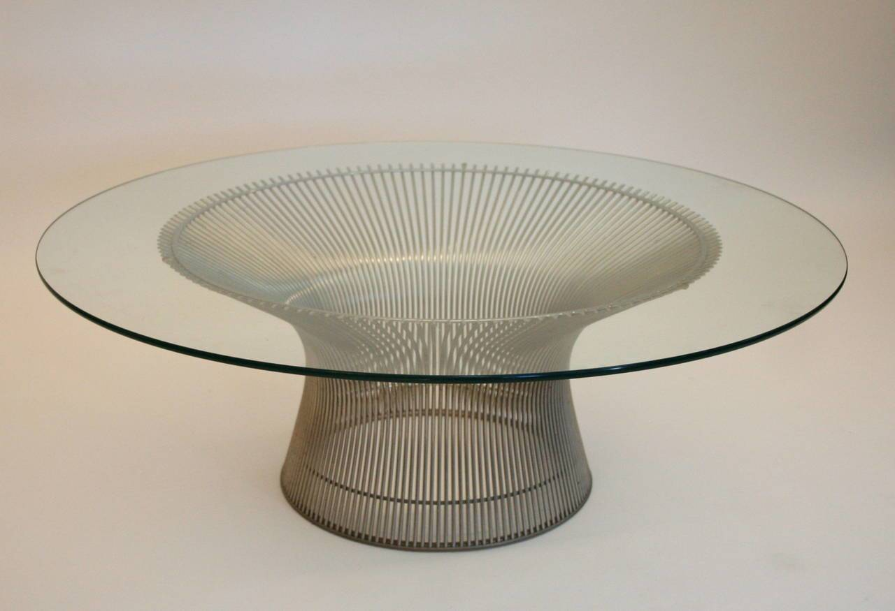 Warren Platner Coffee Table Knoll International Stdibs