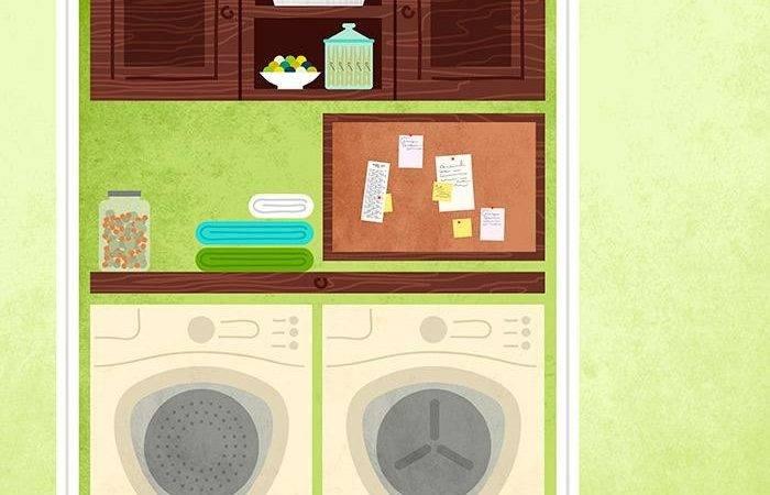 Washer Dryer Storage Laundry Organizer Between