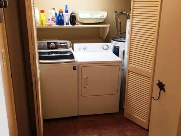 Washer Dryer Storage