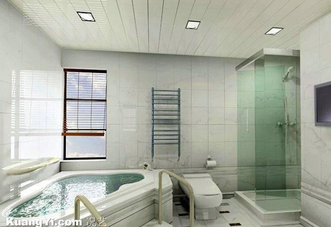 Washroom Glass Shower Room Bathtub Clearance White