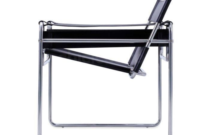 Wassily Chair Marcel Breuer Platinum Replica Pictured Tan