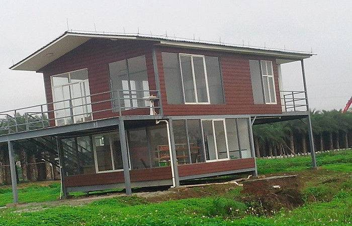 Water Proof Light Steel Portable Bedroom Modular Homes Prefab House