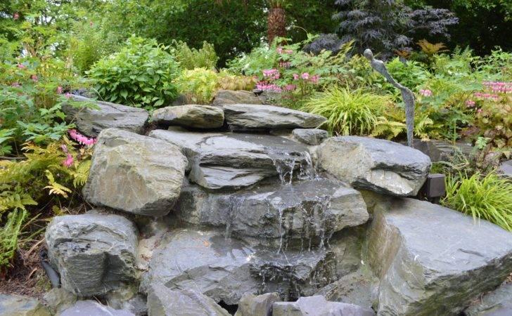 Waterfall Japanese Garden Design Brighton