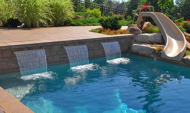 Waterfall Swimming Pool Designs