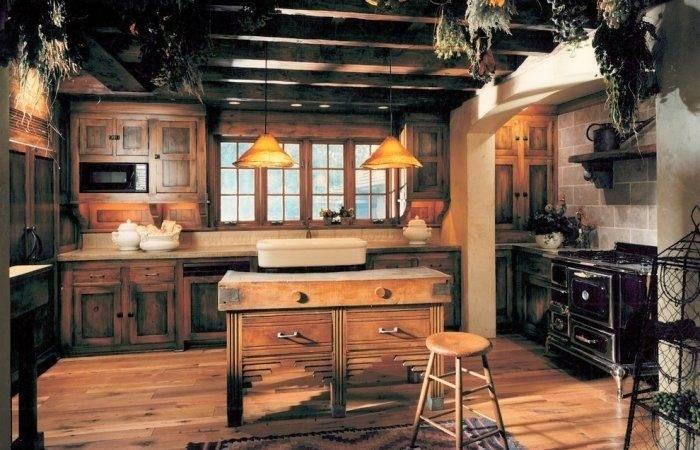 Ways Create Cozy Rustic Kitchen Interior Design