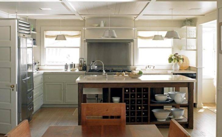 Ways Make New Kitchen Look Old House
