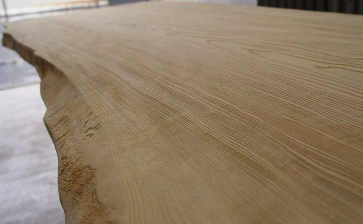 Weathering Enhanced Grain Sandblasting Miya Shoji Tabletop