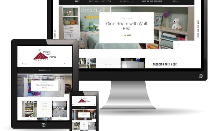 Website Design Closet Concepts Norfolk