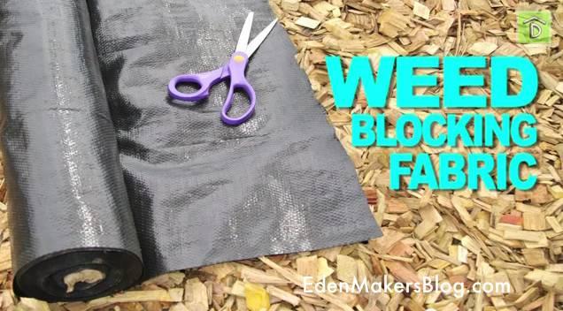 Weed Blocking Fabric Garden Eden Makers Blog Shirley Bovshow