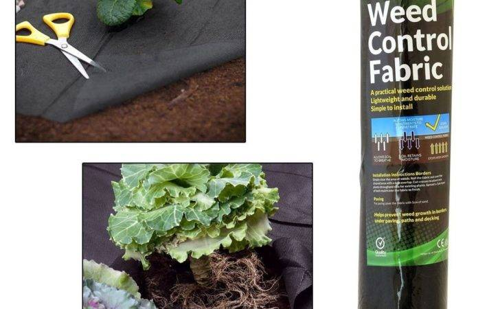 Weed Control Fabric Ground Cover Membrane Landscape Mulch Garden Mats