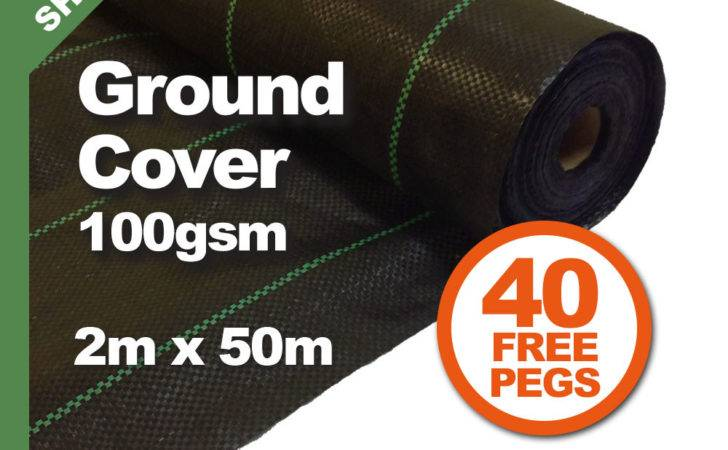 Weed Control Pegs Ground Cover Membrane Landscape Fabric Ebay