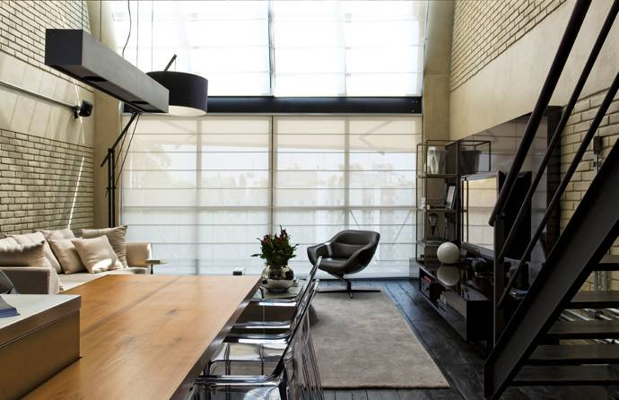 Week Present Contemporary Industrial Loft