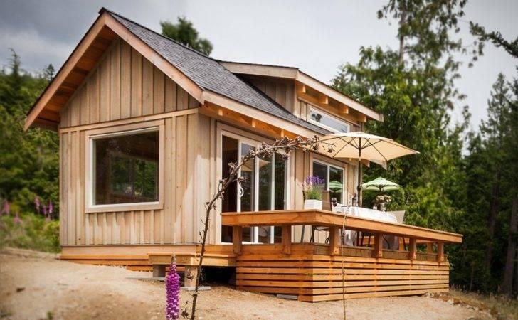 Weekend Fun Gambier Island Tiny Getaway Cabin Small House Bliss