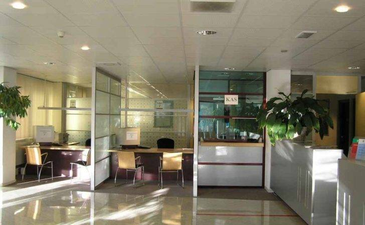 Welcoming Office Environment Cozy Workspace Architect