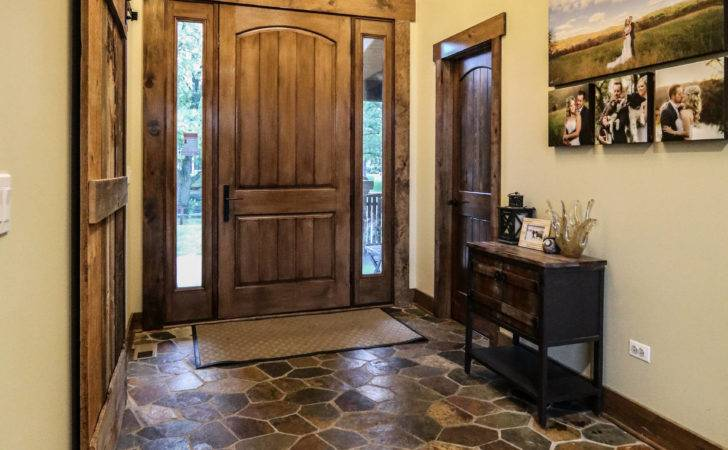 Welcoming Rustic Hall Designs Going Adore