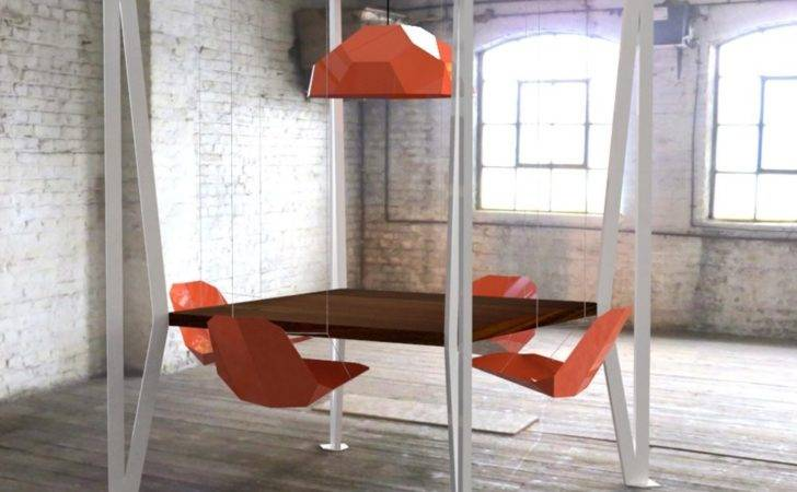 Well Appointed Catwalk Swing Table Duffy London