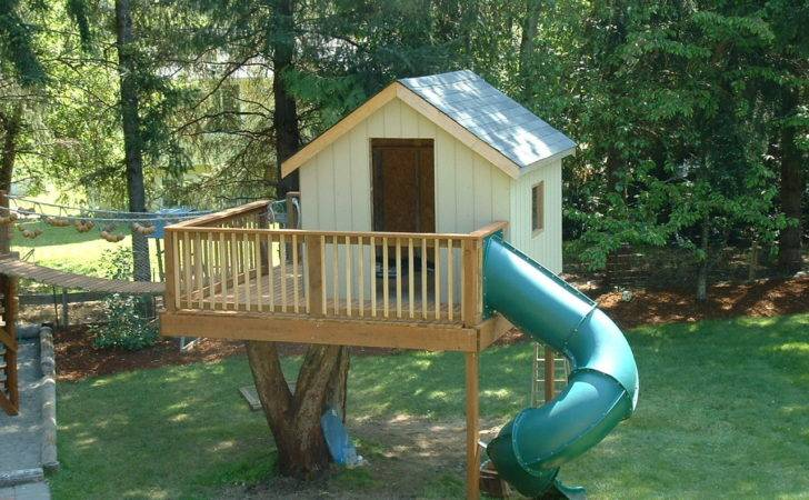 Well Barbie Doll House Plans Likewise Backyard Tree Designs