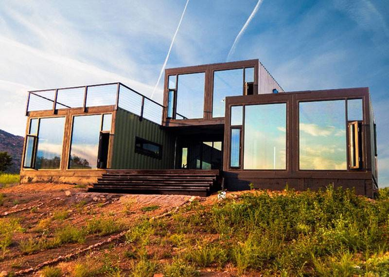 Well Designed Shipping Container Homes Life Inside Box