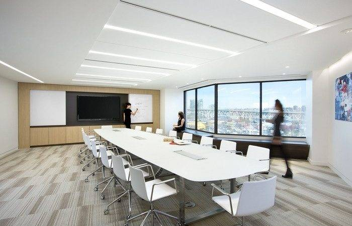 Well Glass Office Cubicles Modern Executive Interior Design