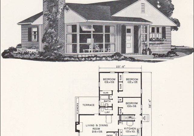 Weyerhauser House Plan Small Modern Ranch Style