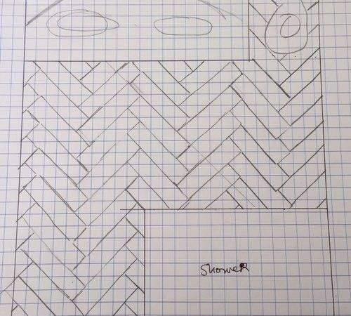 Which Example Like Better Herringbone Tile Orientation