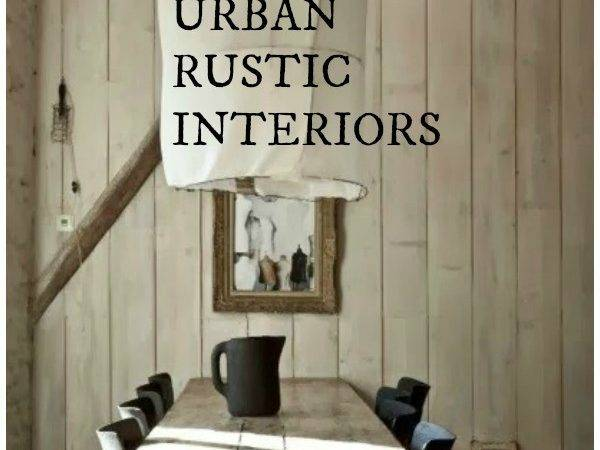 While Urban Rustic Interior Design May Not Official Style