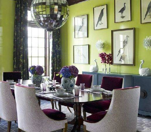 Whimsical Style Dining Room Katie Ridder