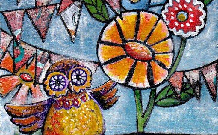 Whimsical Style Painting Artfully Imperfect
