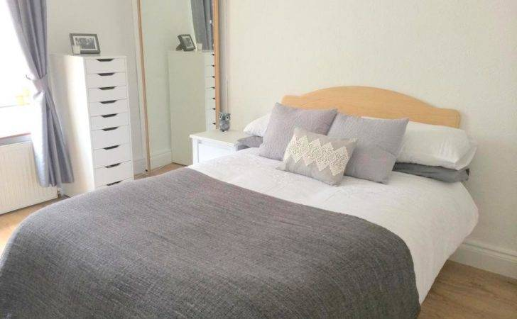 White Bed Side Table Ikea Brusali