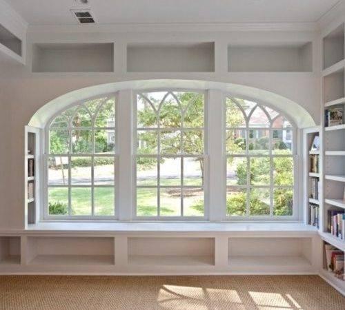 White Bookcase Window Seat Shelving Bydesign Kitchens